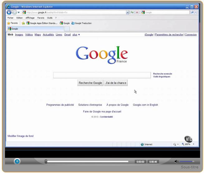 Capture tutoriel affiner recherches google